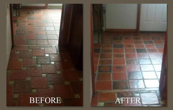 Mexican Tile Makeover