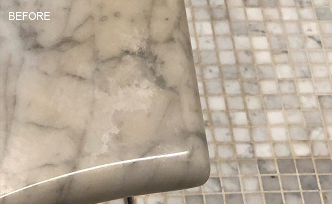 Oil Stained Marble