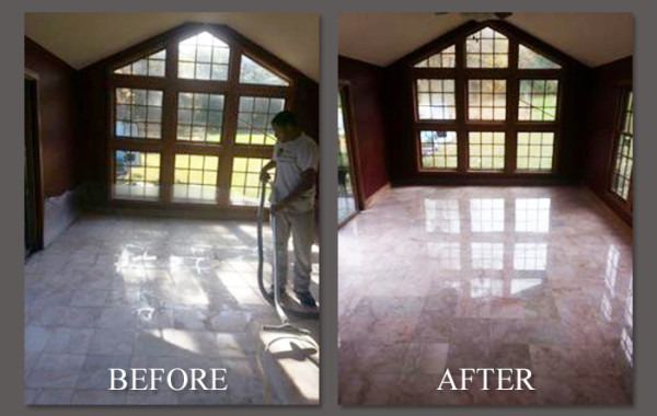 Marble Refinishing and Sealing