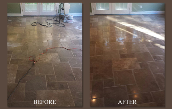 Travertine Floor Repair