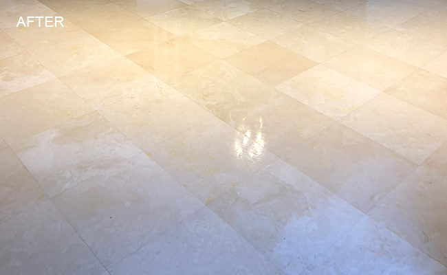 Travertine Honed and Polished